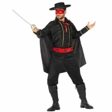 Spaanse gemaskerde held verkleed kostuum heren