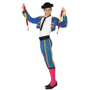 Spaanse matador/stierenvechter verkleed kostuum heren