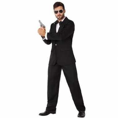 Spion/geheim agent kostuum heren