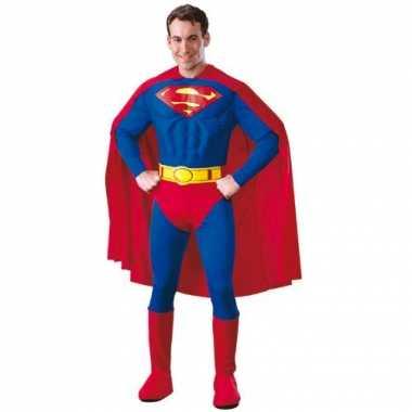 Superheld kostuum heren Superman