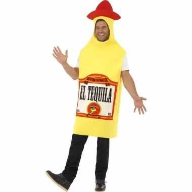 Tequila fles kostuum heren