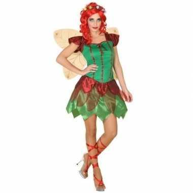 Toverfee/elfen jurkje verkleed kostuum dames
