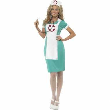 Verpleegster kostuum schort