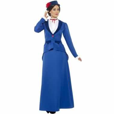 Victoriaanse kinderjuffrouw kostuum dames