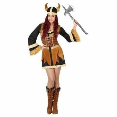 Viking verkleed kostuum/jurk dames