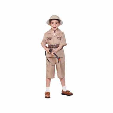 Voordelig safari kostuum kinderen