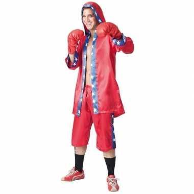 Voordelige bokser kostuum heren