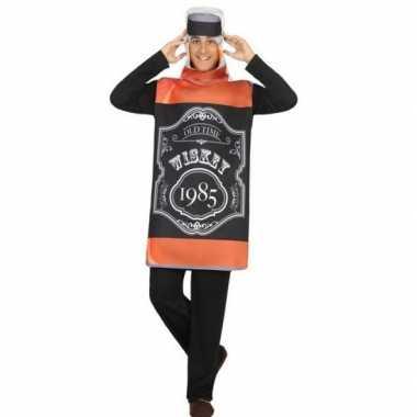 Whisky fles fun verkleed kostuum volwassenen