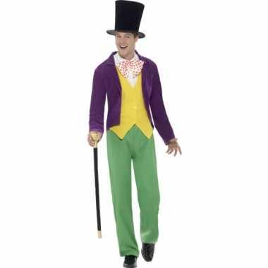 Willy wonka kostuum heren