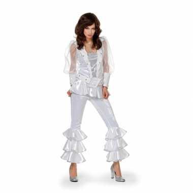Wit disco kostuum dames