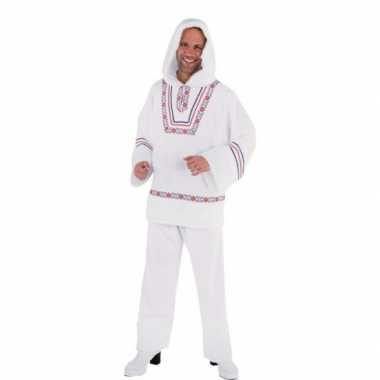 Wit eskimo kostuum heren
