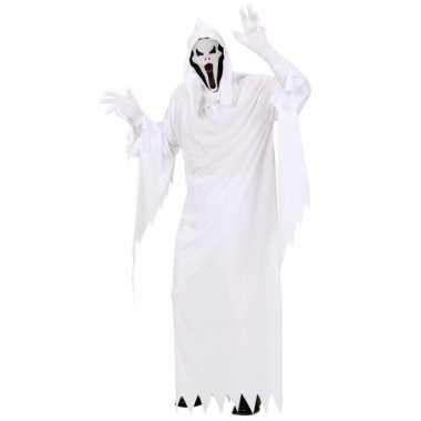 Wit spoken kostuum volwassenen