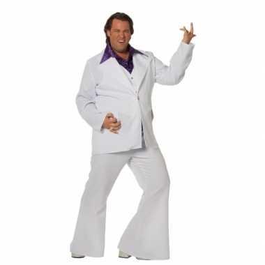 Witte verkleed kostuum heren grote maat