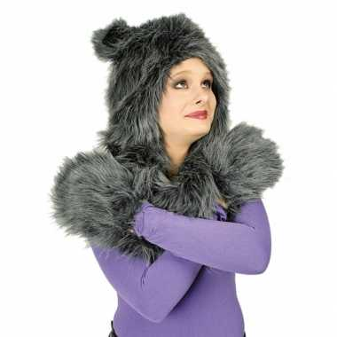 Wolf of kat verkleed kostuum