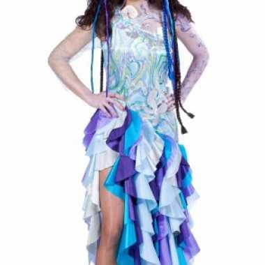 Zeemeermin kostuum dames