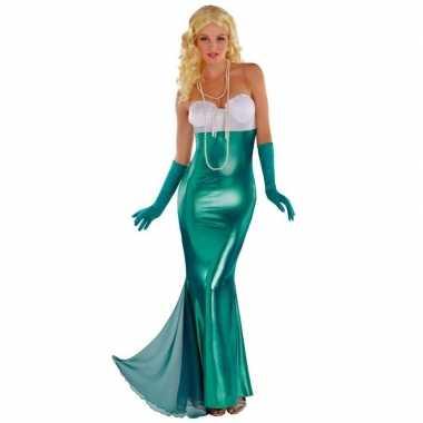 Zeemeermin/zeemeerminnen kostuum feestkostuum dames
