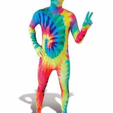 Zentai kostuum Tie-Dye