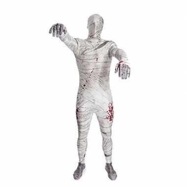 Zentai mummie kostuum
