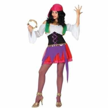 Zigeunerin kostuum 3 delig dames
