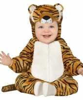 Dierenpak tijger verkleed kostuum peuters 12 18 maanden
