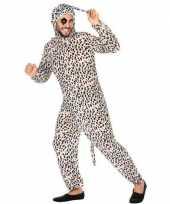 Dierenpak verkleed kostuum dalmatier hond volwassenen