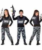 Politie swat verkleed pak kostuum kinderen