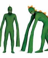 Reptielen monster kostuum heren