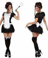 Sexy dienstkinderen verkleed kostuum jurkje dames