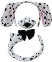 Verkleedkostuum dalmatier hond